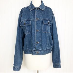 Gap Jean Jacket Vintage Fit Denim Button Up M